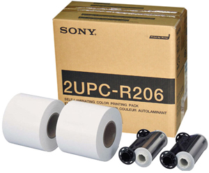 Sony UPDR200 & UPCR20L 6x8 Printer Media Kit - 700 total prints 2YPCR206 or (2UPCR206)