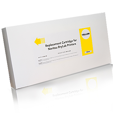 Compatible Noritsu YELLOW 500ml Ink for the Noritsu D701 D703 and D1005 printers WDYC-604