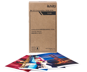 "HiTi P310W 4x6"" Media Pack - 60 total prints 87.P1401.04XT"