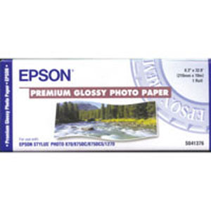 Epson Premium Glossy Photo Paper 8.3in x 32ft roll S041376
