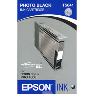 Epson Pro 4880 Ink (110ml) Photo Black T605100