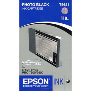 Epson Photo Black Ink 110ml T602100