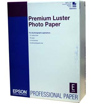 Epson S041913 Ultra Premium Luster Photo Paper 8 5