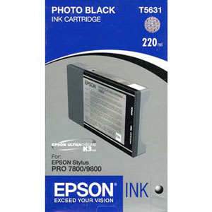Epson T603100 ink cartridge photo black