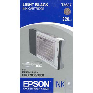 Epson T603700 ink cartridge light black