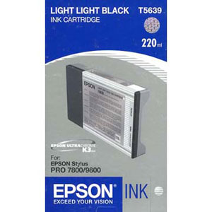 Epson T603900 ink cartridge light light black