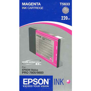 Epson Magenta Ink (220ml) For Epson 7800/9800 T603B00