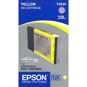 Epson T603300 ink cartridge yellow