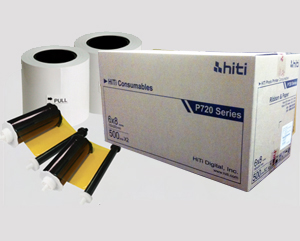 "HiTi P720L 6""x8"" Paper and Ribbon 910 prints 87.PBG04.10X (87PBG0410X)"