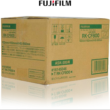"Fujifilm ASK-300 T RK-CF800 4x6"" Media Kit - 800 Prints 16145046"