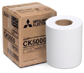 "Mitsubishi One Paper Roll - 250 8x12"" prints or 300 8x10"" prints CK5000"
