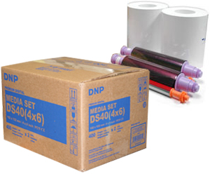 DNP DS40PK46 DS40 4x6 Printer Media Kit