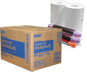 DNP DS40 6x8 Printer Media Kit DS40PK68
