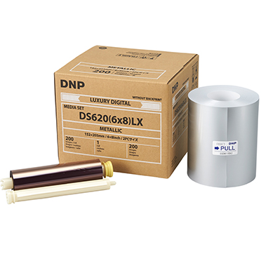 DNP DS620A 6x8 Metallic Luxury Print Media (1 Roll 200 total prints) DS6206x8LXMM