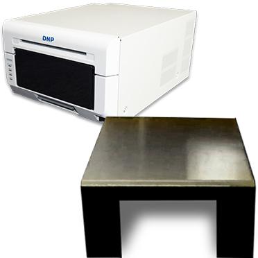 Dnp Ds620a Dye Sub Photo Printer With A Black Printer Cover Bundle