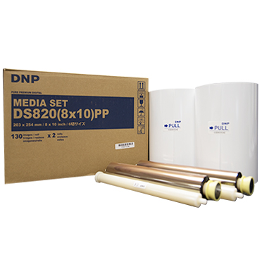 "DNP DS820A 8x10"" Printer Media Kit 2 Rolls - 260 Prints DS820(8x10)PP"