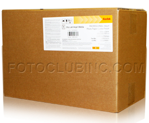 "Kodak Professional Dry Lab Inkjet Photo Paper, Lustre DL 8""in x 328'ft (2 Rolls) - 10 mil, 255g with a 3"" Core KPRO8LDL"
