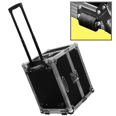 Odyssey Universal Photo Booth Printer Case with Pullout Handle and Wheels - No foam FZHITIP510HW