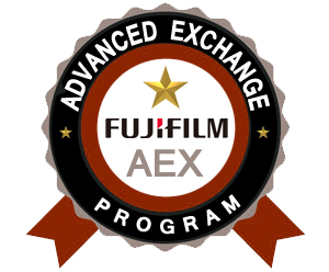 Fujifilm DX100 THREE Year Advanced Exchange Warranty 670003461