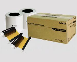 HiTi P720L 4x6 Paper and Ribbon 87.PBE04.10X