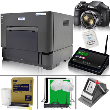 DNP IDW500 Passport & ID Photo Print Bonus Bundle System & Supplies Set IDW500-SET-BUNDLE