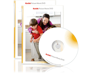KODAK Picture Movie DVD (25 ct packw/ 25 slim jewel cases) 842-3600 (8423600)