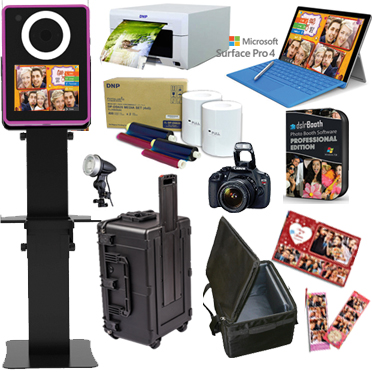 Lumia DNP DS-620A Printer dslrBooth Software Full Photo Booth System - BLACK LumiaPB-620A-BK