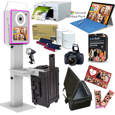 Lumia DNP DS-620A Printer dslrBooth Software Full Photo Booth System - WHITE LumiaPB-620A-WH