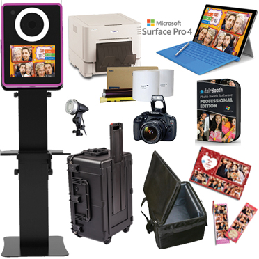 Lumia DNP RX1HS Printer dslrBooth Software Full Photo Booth System - BLACK LumiaPB-RX1HS-BK