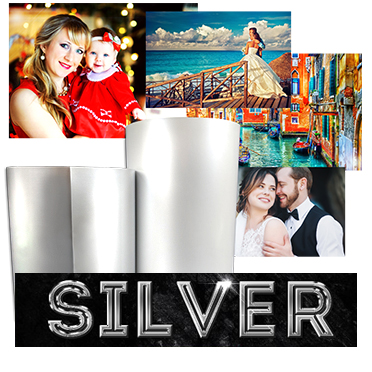 DNP DS620A 5x7 Silver Pearl Luxury Print Media (1 Roll 230 total prints) DS6205x7LXSP