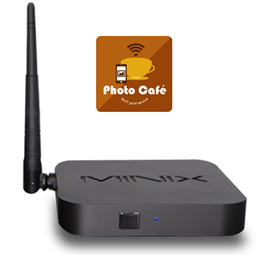 Photo Cafe Wi-Fi Print Server for the Sinfonia CS2 printer photocafe-wifi