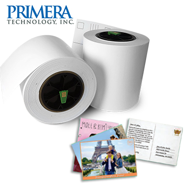 "Impressa IP60 6"" POSTCARD MATERIAL Photo Paper, 175 feet per roll, 2 Rolls - 1000 prints 057356"