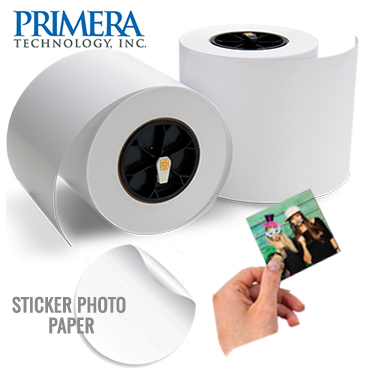"Impressa IP60 6"" x 175' ft LUSTER Repositionable Adhesive Photo Paper - 2 Rolls - 1000 prints 057354"