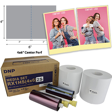 DNP DS-RX1 and DS-RX1HS Printer Media - FotoClub Inc