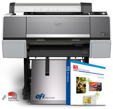 "Epson SureColor P6000 Designer Edition 24"" Printer with EFI eXpress RIP software SC-P6000DES"