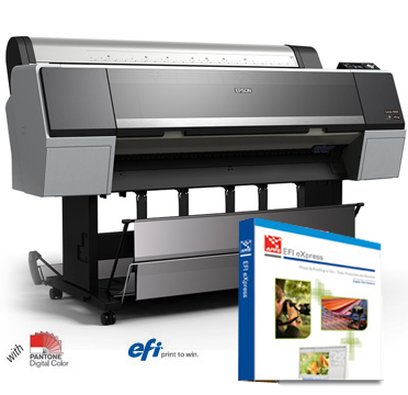 "Epson SureColor P8000 Designer Edition 44"" Printer with EFI eXpress RIP software SCP8000DE"