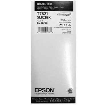 Epson SureLab D700 BLACK UltraChrome D6-S Ink Cartridge – 200 ml T782100