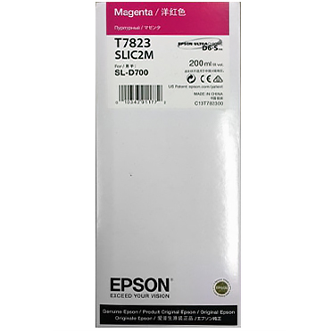 Epson SureLab D700 MAGENTA UltraChrome D6-S Ink Cartridge – 200 ml T782300