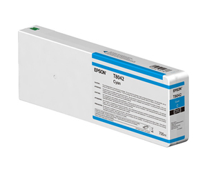 Epson UltraChrome HD Cyan T804200 Ink Cartridge - 700ml T804200