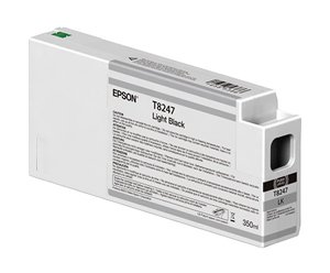 Epson UltraChrome HD Light Black T824700 Ink Cartridge - 350ml T824700