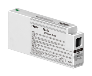 Epson UltraChrome HD Light Light Black T824900 Ink Cartridge - 350ml for P-series Standard Edition printers T824900
