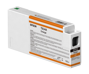 Epson UltraChrome HDX Orange T834A00 Ink Cartridge - 150ml T834A00