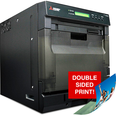 Mitsubishi CP-W5000DW Dye Sublimation High-Speed High-Capacity Duplex Photo Printer CP-W5000DW