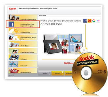 KODAK Social Network Connectivity Module - 1763341 176-3341